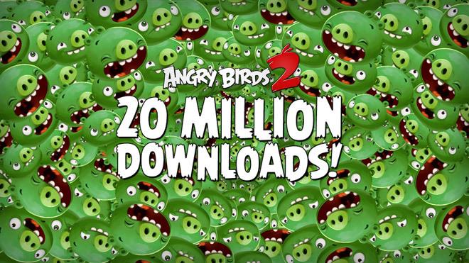 Angry Birds 2 бьет рекорды по количеству загрузок