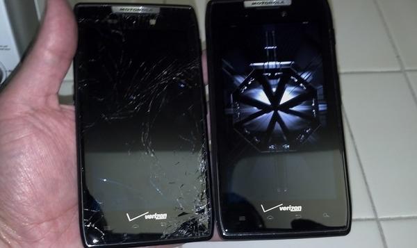 Motorola придумала самовосстанавливающийся дисплей