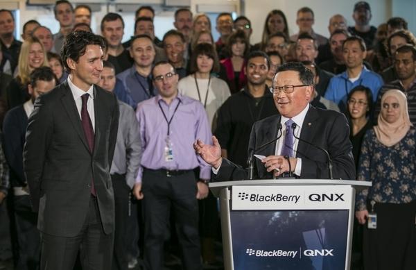 BlackBerry открыла центр разработки ПО для робомобилей