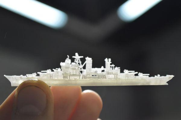 Южная Корея напечатает корабли на 3D-принтере
