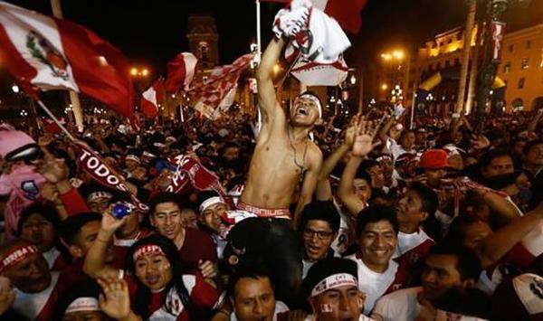 Празднование гола сборной Перу было принято специальным приложением за землетрясение