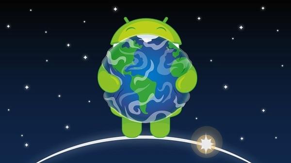 Android используется для выхода в Интернет так же часто, как и Windows
