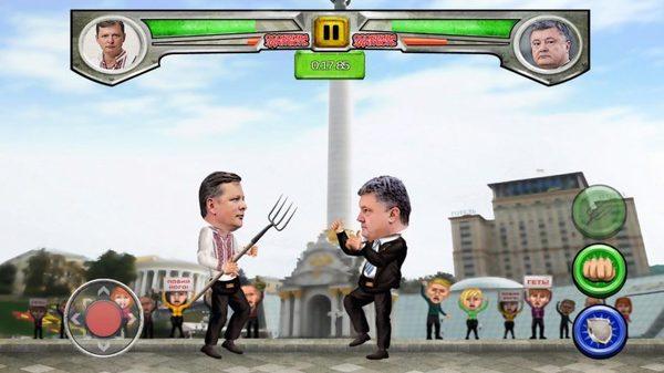 Украинские разработчики создали «Mortal Kombat» с политиками