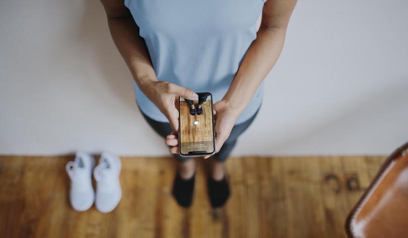 d1403098 Функция под названием Nike Fit является частью приложения Nike. Она при  помощи искусственного интеллекта подбирает пользователю оптимальный размер  обуви.