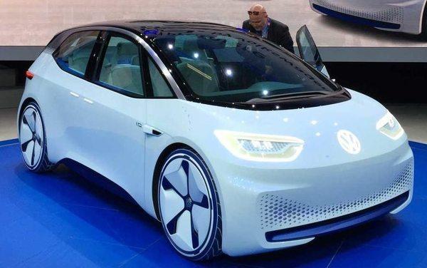 Volkswagen раскрыл новые подробности о своем футуристичном электромобиле I.D