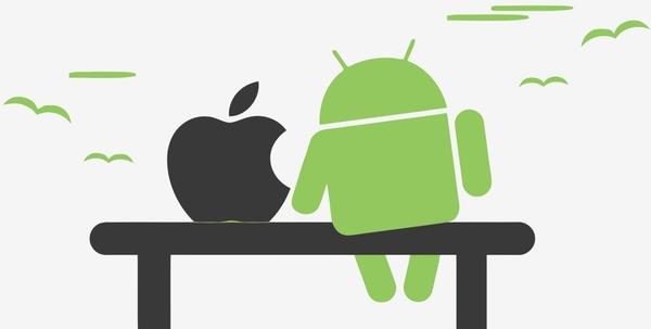 iOS опережает Android на англоязычных рынках, но проигрывает во всех остальных