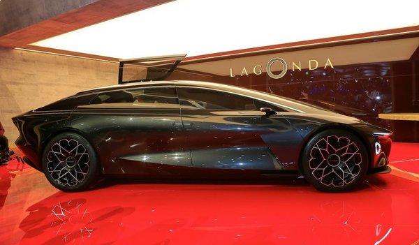 Aston Martin представил шикарный концепт-электрокар