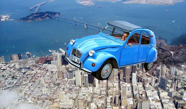 Ларри Пейдж хочет заставить автомобили летать