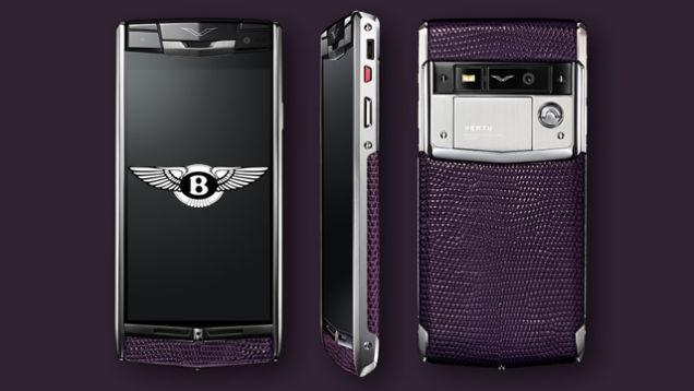 Смартфон от Vertu и Bentley изоражения