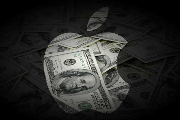 Цена акции Apple бьет рекорды, а стоимость компании приближается к триллиону долларов
