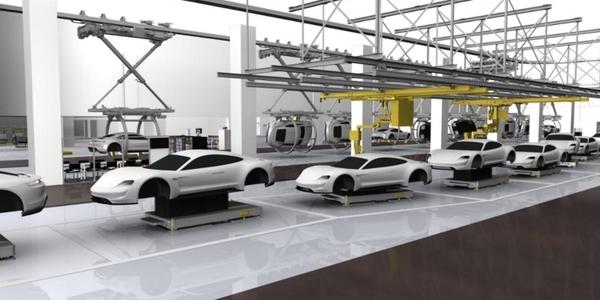 Porsche запустит массовое производство электрокара Mission E в 2019 году