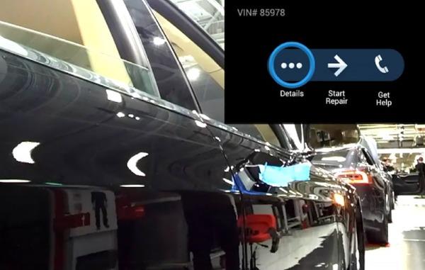 Google Glass используются на производстве Tesla
