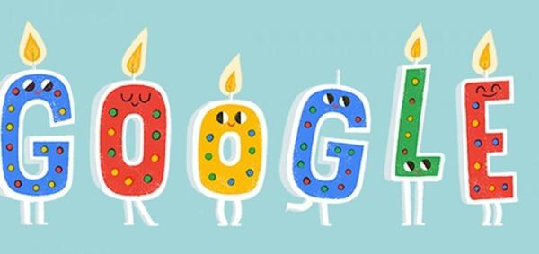 Сегодня Google исполняется 20 лет