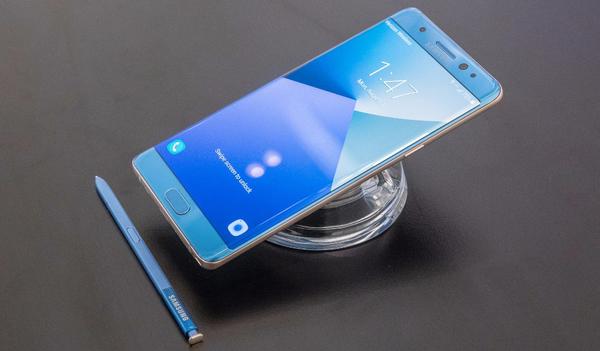 Samsung Galaxy Note 8 не получит экранный сканер отпечатков из-за технических проблем