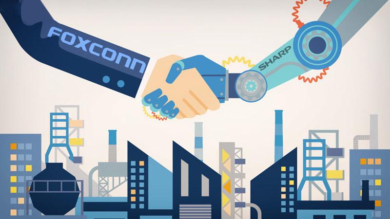 Foxconn может приобрести подразделение Sharp, занимающееся выпуском ЖК-экранов
