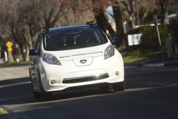 Nissan приступает к испытаниям самоуправляемых машин в Европе