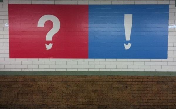 Twitter запустил в Нью-Йорке загадочную рекламную кампанию