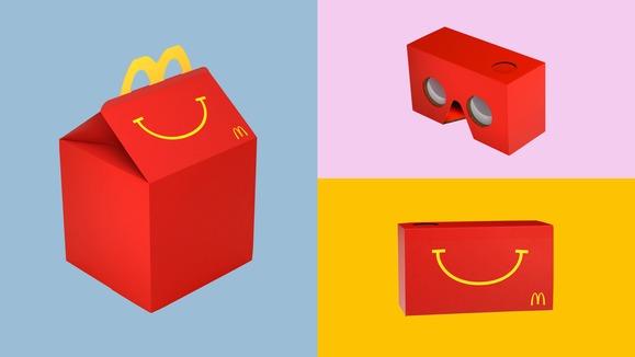 McDonalds раздает очки виртуальной реальности