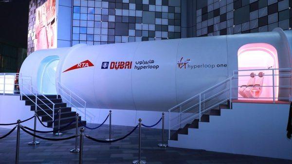 В Дубае показали капсулу Virgin Hyperloop One