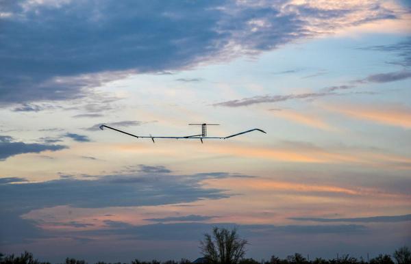 Самолёт на солнечных батареях поставил мировой рекорд