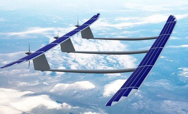 Беспилотник на солнечных батареях ApusDuo продержался в полете более 1000 часов