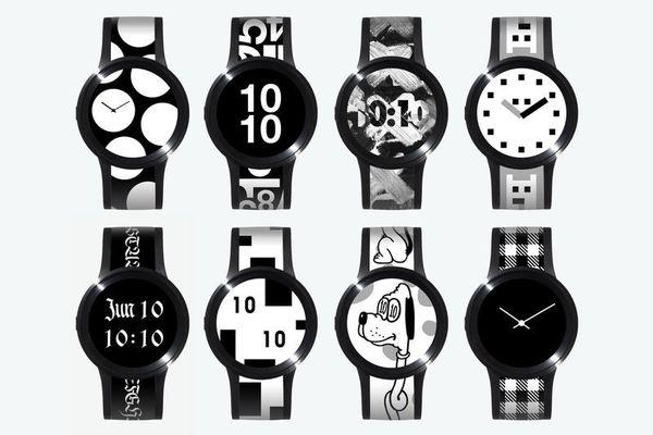 Sony начала продажи часов FES Watch U, оснащенных экраном на электронных чернилах