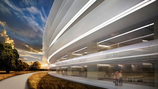 Строительство нового офиса Apple близится к завершению (Видео)