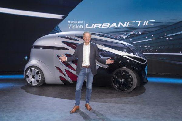 Mercedes представил концепт модульного робомобиля будущего (видео)