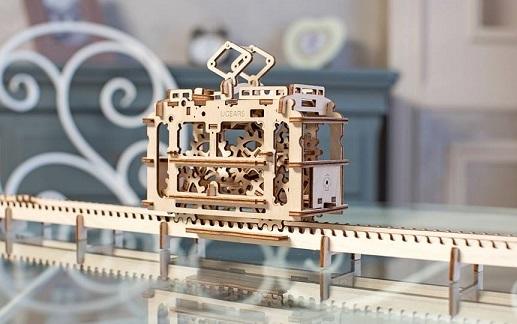 Украинцы собирают деньги на Kickstarter для продвижения удивительных механических 3D-паззлов из дерева