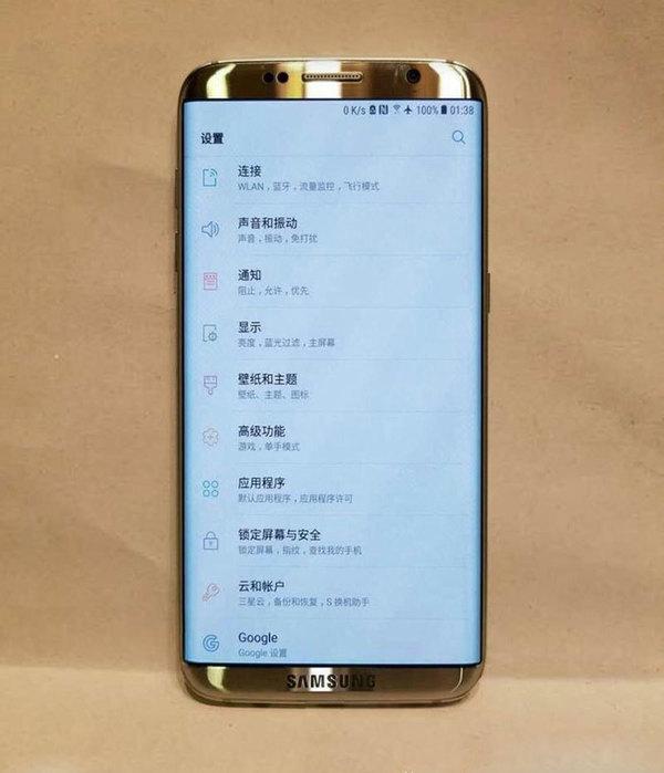 Фотография Samsung Galaxy S8 попала в сеть