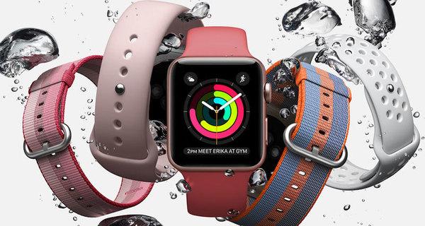 Стали известны дата выхода и цена Apple Watch 3