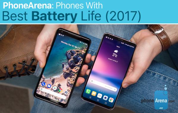 Составлен рейтинг самых долгоиграющих смартфонов 2017 года