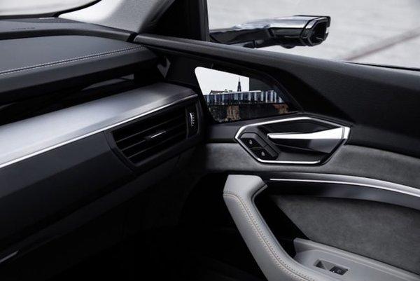Audi представила автомобиль с экранами вместо зеркал