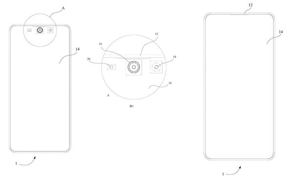 Meizu хочет спрятать фронтальную камеру в смартфонах за дисплей