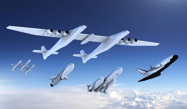 Один из основателей Microsoft планирует построить космоплан для доставки людей на орбиту