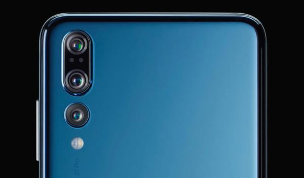 Huawei готовит смартфон с тройной камерой