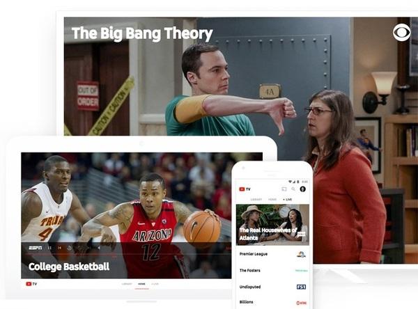YouTube запускает сервис для просмотра телевидения по подписке