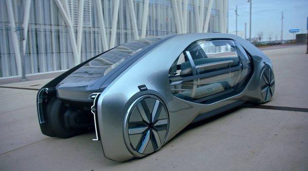 Renault представил концепт собственного беспилотного электротакси