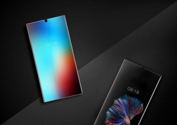 Sharp создал полностью безрамочный смартфон