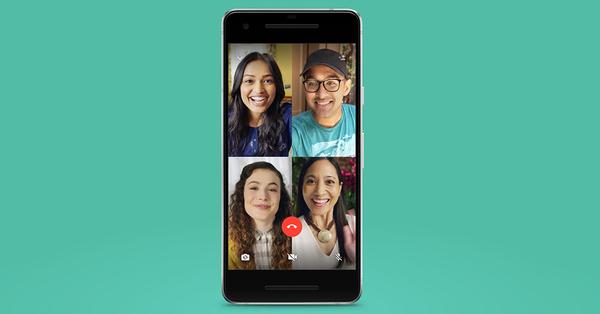 WhatsApp запустил функцию групповых видеозвонков