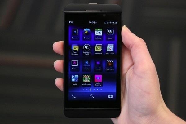 Доля операционной системы Blackberry OS на мобильном рынке скатилось до 0,0%
