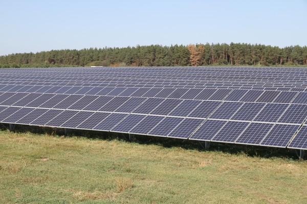Под Киевом запущена самая мощная в области солнечная электростанция