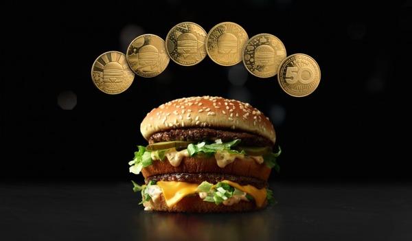 McDonald's выпускает собственную валюту в честь 50-летия «Биг Мак»