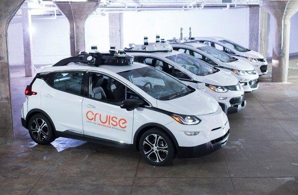 General Motors организует испытания робомобилей в Нью-Йорке