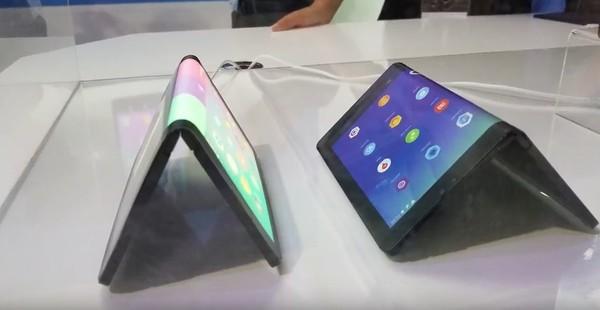 Гибкий планшет Lenovo впервые показали в действии