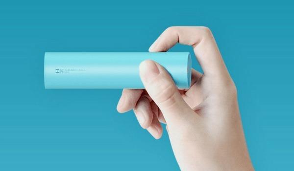 Xiaomi выпустила свой самый маленький внешний аккумулятор