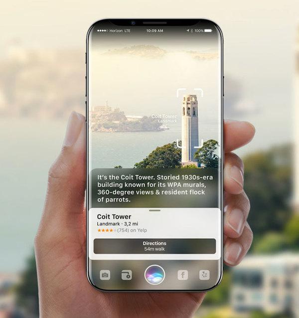 iPhone 8 получит революционную камеру с лазером для измерения глубины изображения