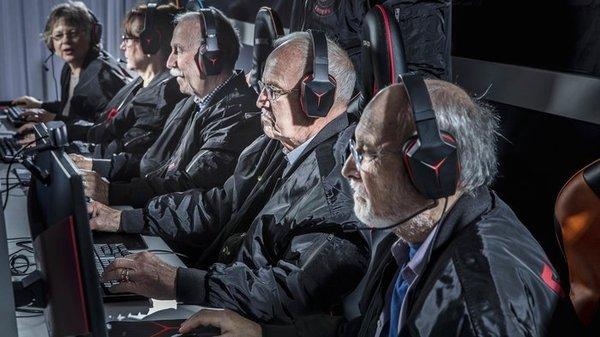 Видеоигры могут предупредить старческое слабоумие
