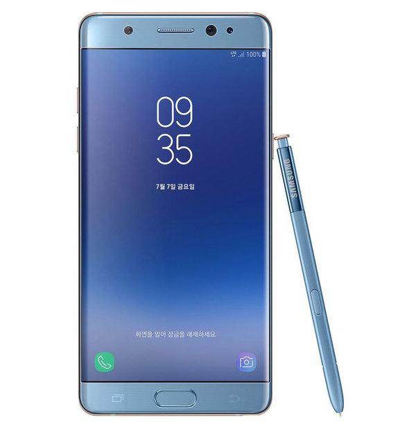 Samsung представил смартфон, собранный из запчастей отозванных Galaxy Note 7