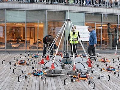 Дрон Megacopter попал в книгу рекордов Гиннесса (ВИДЕО)
